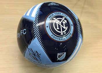 NYCFC Signed Ball